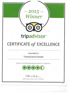 Transylvania Hostel on Trip Advisor